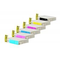 Alternativní inkousty Epson T0807 CMYK + LC + LM 6 ks