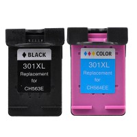Alternativní inkousty HP301XL - CH563EE Black a HP CH564EE Color