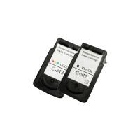 Alternativní inkousty Canon PG512 Black a CL513 Color