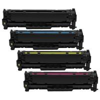Alternativní tonery HP CF210X / CF211A / CF212A / CF213A CMYK 4 ks