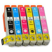 Alternativní inkousty Epson T2438 / T2428 24XL 6 ks