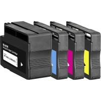 Alternativní inkousty HP C2P42A - HP932XL / HP933XL CMYK 4 ks
