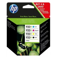 Cartridge HP C2N92AE HP920XL CMYK combo - balení 4 ks