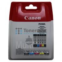 Cartridge Canon 0372C004 / PGI-570 Black + CLI-571 CMYK multipack pro Canon