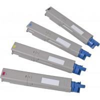 Alternativní tonery pro OKI C3520, C3530, MC350, MC360 CMYK 4 ks