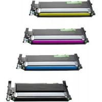 Alternativní tonery za Samsung CLT-P406C CMYK - 4 ks