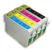 Alternativní inkousty Epson T0715 CMYK 4 ks