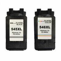 Alternativní inkousty Canon PG545XL Black a CL546XL Color