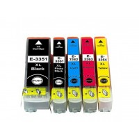 Alternativní inkousty Epson T3357 33XL CMYK + BK multipack 5 ks