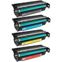Alternativní tonery HP CE250X / CE251A / CE252A / CE253A CMYK 4 ks