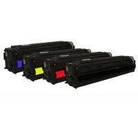 Alternativní tonery HP CE320A / CE321A / CE322A / CE323A HP128 CMYK 4 ks