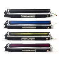 Alternativní tonery HP CF350A / CF351A / CF352A / CF353A HP130A CMYK 4 ks