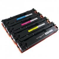 Alternativní tonery HP CB540A / CB541A / CB542A / CB543A CMYK 4 ks