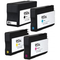 Alternativní inkousty C2P43AE CMYK HP950XL / HP951XL 4 ks