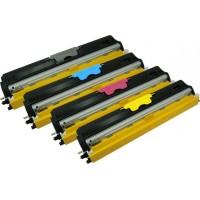 Alternativní tonery pro Konica Minolta Magicolor 1600, 1680MF, 1690MF - multipack CMYK 4 ks